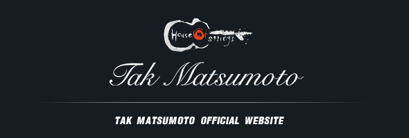 Tak Matsumoto OFFICIAL WEBSITE